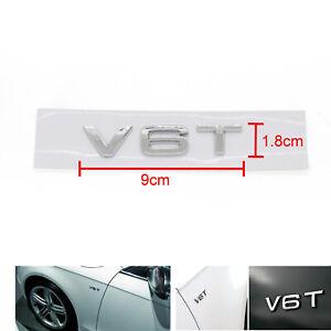 V6T-Emblem-Abzeichen-fuer-AUDI-A1-A3-A4-A5-A6-A7-Q3-Q5-Q7-S6-S7-S8-S4-SQ5-Chrom-F