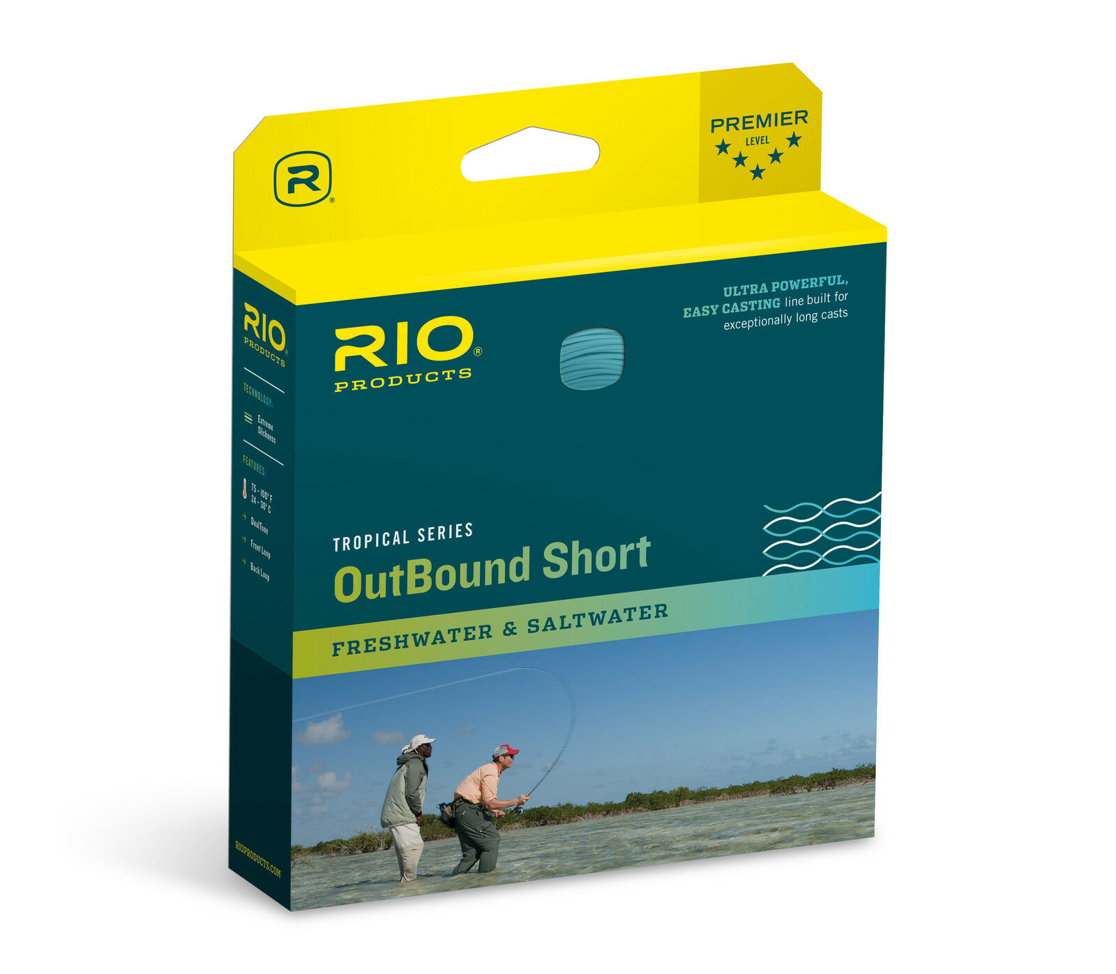 Rio Tropical Outbound Short Fly Line, WF9FI...30' Intermediate Head, nuovo