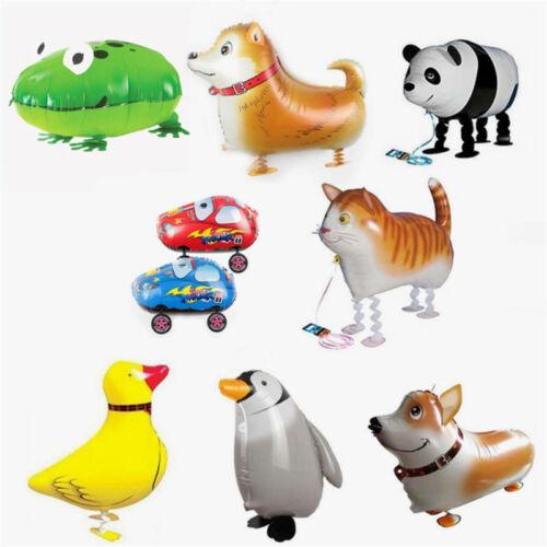 Tier Walking Folie Pet Helium Ballon Kinder Party Geburtstag Decor Spielzeug