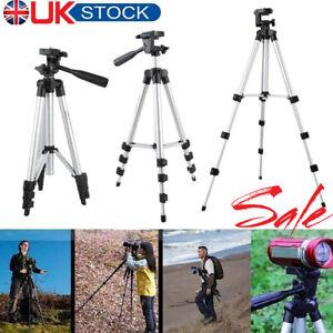 Aluninum-Tripod-Stand-Mount-Holder-For-Canon-Nikon-Sony-iPhone12-Xiaomi-etc-UK