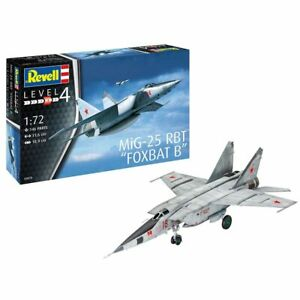 REVELL-MiG-25-RBT-1-72-Aircraft-Model-Kit-03878
