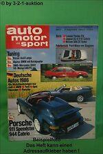 AMS Auto Motor Sport 17/85 DB 300E 5,0 AMG Porsche 911 Speedster 300 ZXT