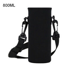 HK Water Bottle Drink Cup Holder Sleeve Neoprene Insulated Cover Carrier Intrig
