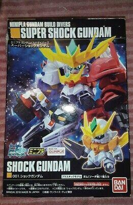Full Complete All 5 Types Set Minipra Gundam Build Divers Super Shock Gundam