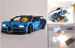 USB Powered LED Light Lighting Kit ONLY For LEGO 42083 Bugatti Chiron Technic