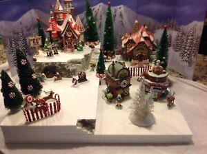 Christmas Village Platform.Details About Christmas Village Display Platform Base For Lemax Dept56 Northpole