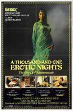 Thousand And One Erotic Nights Poster 01 A3 Box Canvas Print