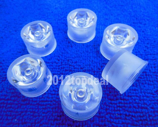 50pcs Led Waterproof Lens Holder 90 Degree For 1w 3w High Power LED light Lamp