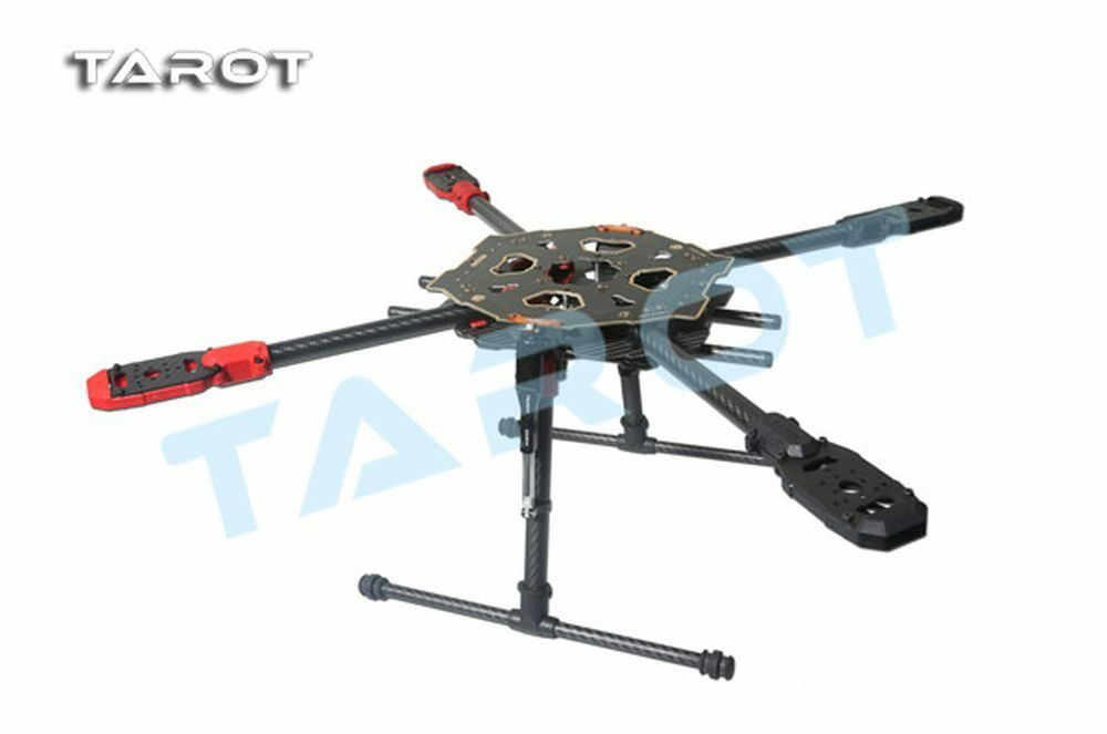 Tarojo 650 Sport plancha carbon quadcopter marco-eléctrico aterrizaje bastidor