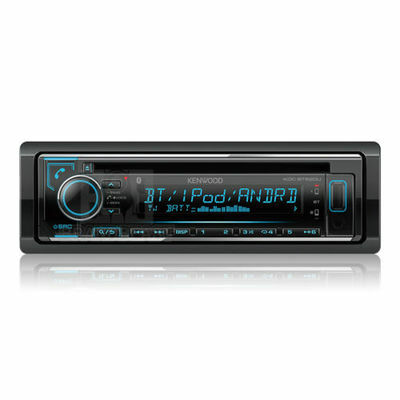 Kenwood Kdc-bt620u Cd Usb Dual Bluetooth Car Stereo Android Iphone Multi Color
