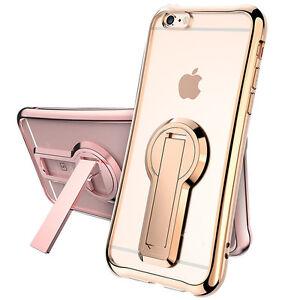 Handy-Huelle-fuer-Apple-iPhone-5-6S-7-Plus-Slim-Case-Schutzhuelle-Tasche-Cover