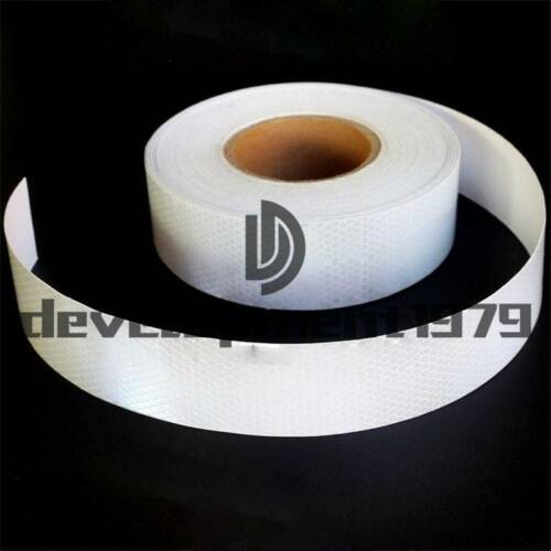 """6M 2/""""X20/' Types Night Reflective Safety Warning Conspicuity Tape Strip Sticker"""