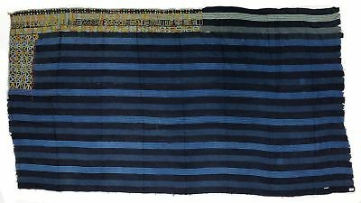 "73"" X 40"" Bed & Bath Linens Purposeful Vintage Wodaabe Textile Of Nigeria"