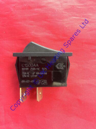 IDEAL CLASSIC FF370 FF380 /& FF3100 chaudière on//off Chauffage Rocker Switch 171496