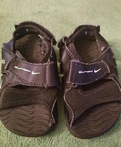 5017e3c60 Image is loading Baby-Toddlers-Nike-Sunray-Adjust-TD-Slide-Sandals-