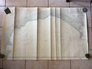 Karte-Marine-England-Sued-Coast-Berry-Head-To-Portland-1954