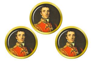 Arthur-Wellesley-Duc-de-Wellington-Marqueurs-de-Balles-de-Golf