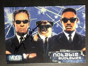 Details About Tommy Lee Jones Agent Kay Signed Mib Card Coa Mystery Gift