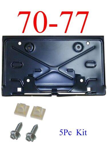 70 77 Chevy Camaro 5Pc Rear Fold Down License Plate Kit GMK402188570