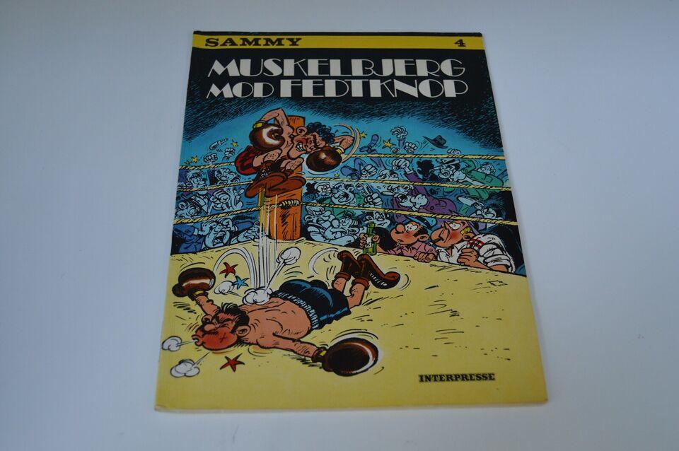 Tegneserier, Sammy 4: Muskelbjerg mod Fedtknop