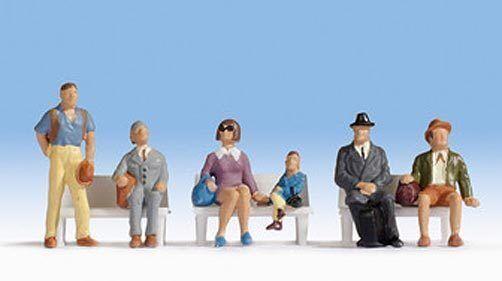 Figurines Noch H0 (15240): Passengers
