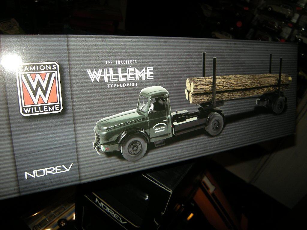 1 43 Norev Camions déontologie type LD 610 T avec du bois dans NEUF dans sa boîte