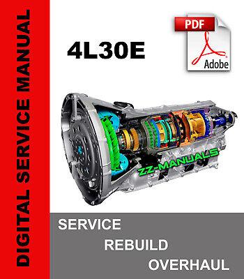 gm 4l30e wiring diagram 4l30 e 4l30e transmission service repair rebuild manual gm bmw  4l30 e 4l30e transmission service
