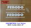 FERODO BRAKE PADS VINILO PEGATINA VINYL STICKER DECAL AUFKLEBER AUTOCOLLANT