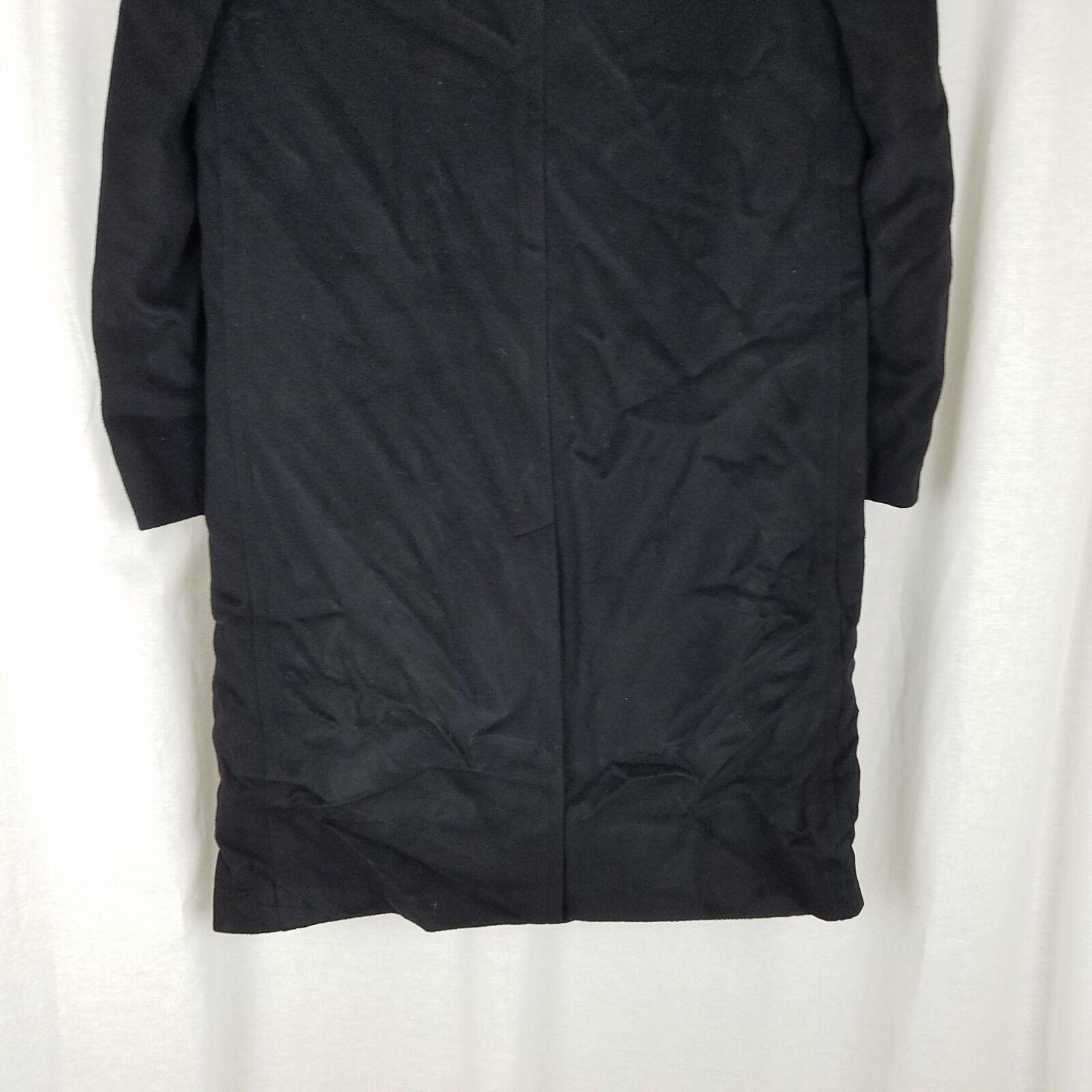 Vintage 100% Cashmere Puro Mongolo Cashmere 100% lungo Caban Lana Invernaleinverno Polo Giacca d4bad8