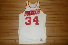 1980's Hakeem Olajuwon Houston Rockets authentic Sand Knit jersey