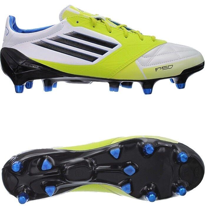 Adidas projoator xtrx sg señores botas de fútbol blancoo negro amarillo nuevo