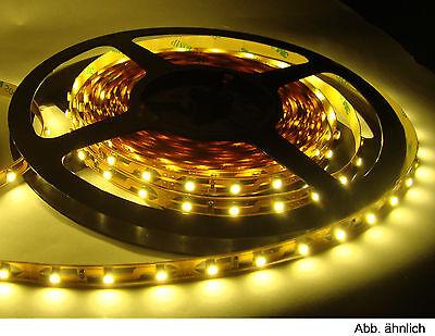 2,98€/m - 5 M Smd Led Flex Strip Lichtband Warm-weiss Warmweiß GroßEs Sortiment