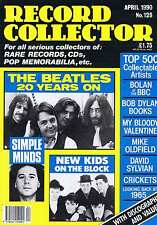 BEATLES / SIMPLE MINDS / NEW KIDS ON THE BLOCKRecord Collectorno.128Apr1990