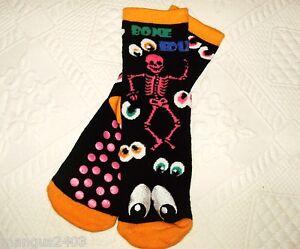 REDTAG Boys Striped Extreme Thermal Non-Slip Slipper Socks
