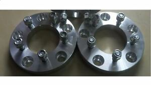 "2 wheel adapter 5x4.5/"" /& 5x4.75/"" to 5x4.5/"" CB 74mm thickness 1.75/""M12X1.5"