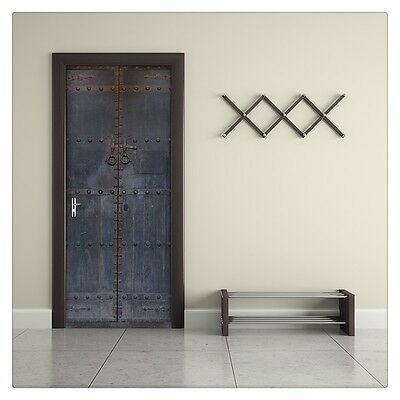 latest Door Wall Sticker PVC Waterproof Bedroom Living Room Door Mural Wrap