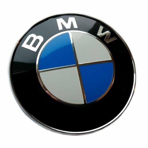Logo BMW 82 mm Coffre Capot Série 1 3 5 7 E39 E46 E90 E60 E92 X3 X5 X6 M3 M5 M6