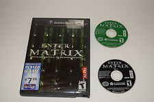 Enter the Matrix Nintendo GameCube Game Disc w/ Case
