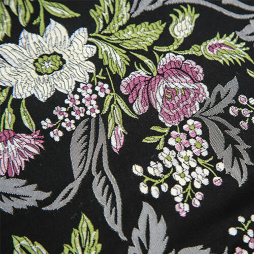 Peony Jacquard Damask Fabric Chinese Damask Cloth Furnishing Material By Metres