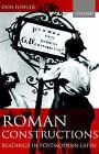 Roman Constructions: Readings in Postmodern Latin by Don Fowler (Hardback, 2000)