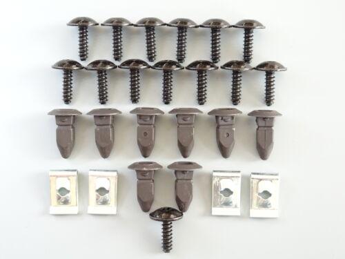 26 Teile Radkasten Radhausschale Reparatur Set Clips für Audi A3 A4 B6 A6 C5