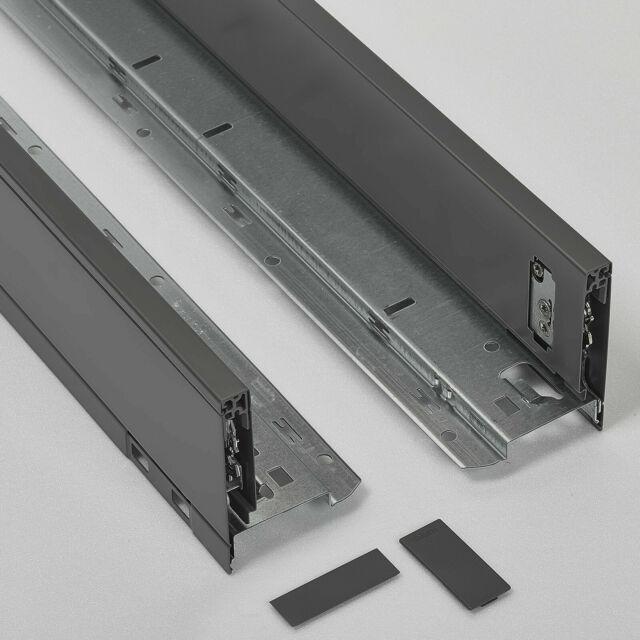 Blum Set LEGRABOX pure C BLUMOTION NL=400mm 40kg oriongrau matt