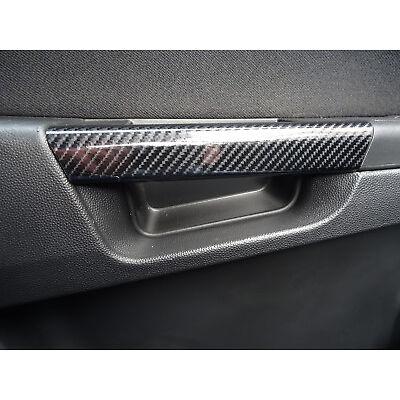 ASTRA H Mk5 VXR 5D Gloss Carbon Effect Inner Door Handle Cover trims
