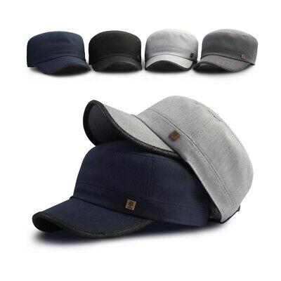 XL~2XL XXL 61~64Cm Unisex Mens Womens Tweed Cadet Military Cap Big Trucker Hats