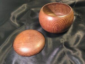 Rare-Original-Scandinavian-Mid-Century-Modern-Jewelry-Box-Sculptural-Turned-Teak