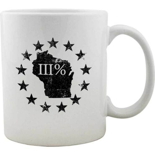 Original Wisconsin State III Percenter Mug