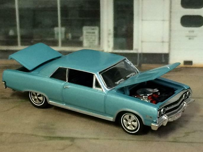 1965 65 Chevrolet Chevelle SS 396 V-8 Super Sport Detailed 1 64 Scale Ltd Ed Y14