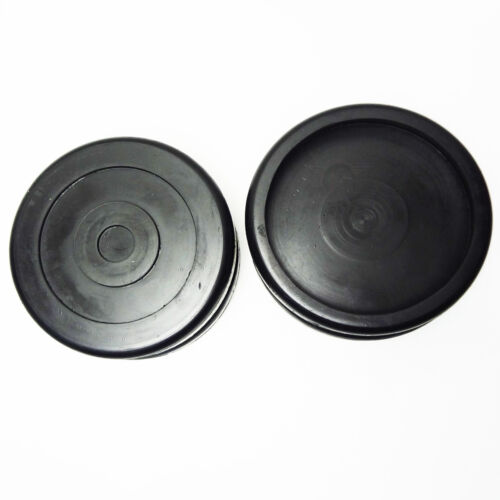 ROUND Rubber Arm Pads for BENDPAK lift DANMAR Lift SET OF 4 HD slip on # 5715017
