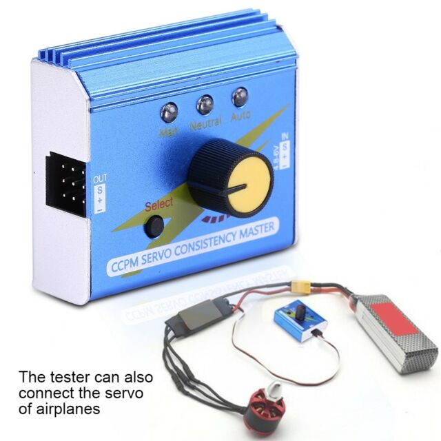 Simple Servo Tester RC Aircraft Model Motor Tester Three-Speed Indicator
