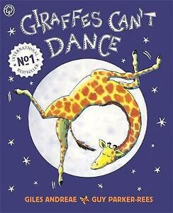 Giraffes-Can-039-t-Dance-By-Giles-Andreae-Paperback-Book-Free-Shipping